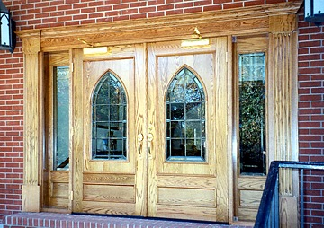 Interior Church Doors with Glass